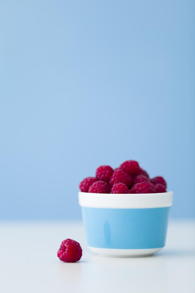 raspberry ramekin